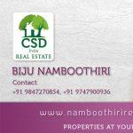 CSD Real Estates Visiting Card