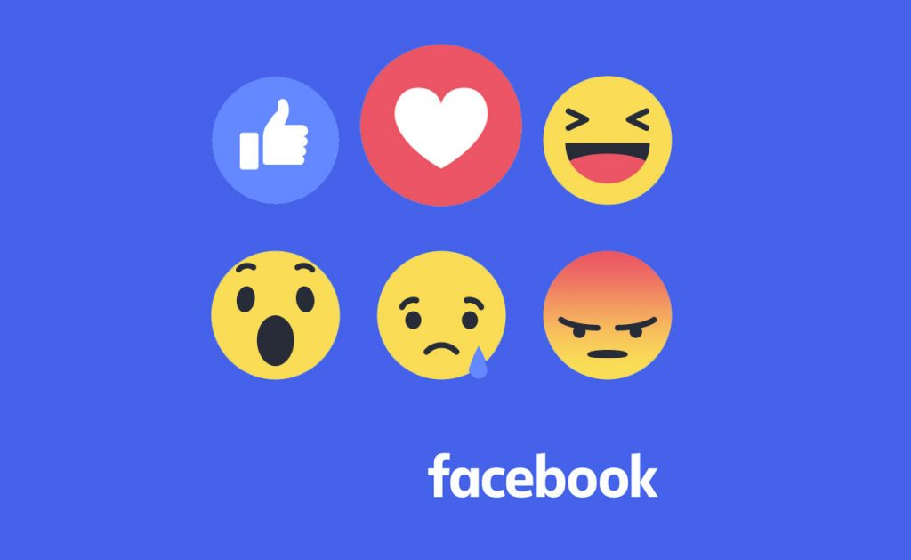 Facebook adds Reactions to Like button feature