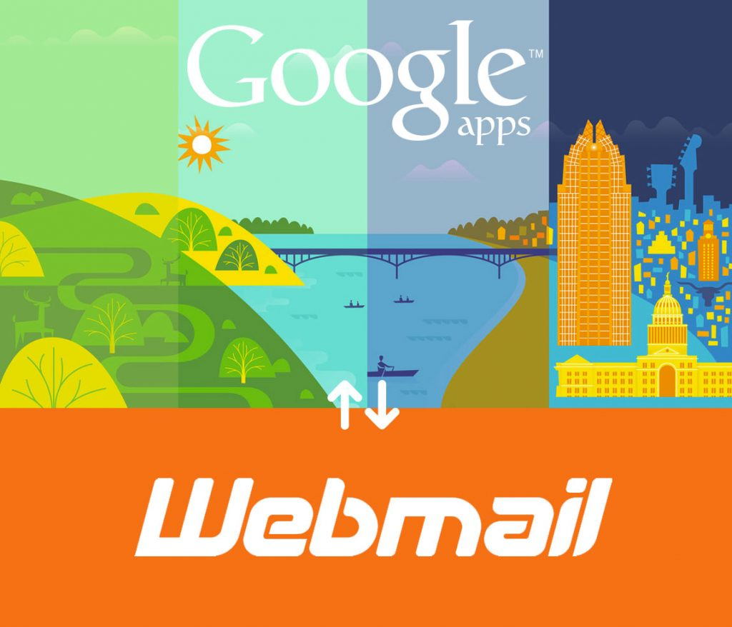How to configure Google Apps with Webmail
